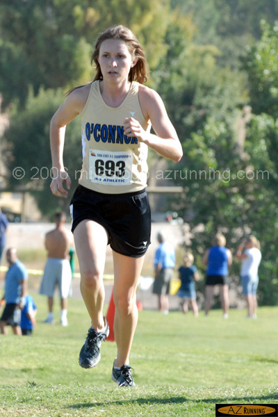 Lindsay Prescott and the Sandra Day O'Connor team dominated the 5A Division II race