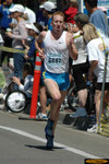 Mark Fretta, Men 29 & under champion, in 14:47