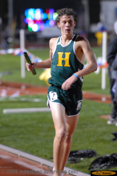 Horizon High School competed in the 4 x mile relay