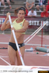 Jennifer Stuczynski won the pole vault