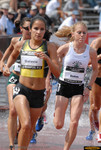 Lisa Galaviz, former ASU All-American, and defending National Champion