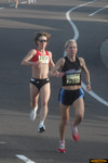 Michelle Simonaitis leads Patty Murray in the masters women's race