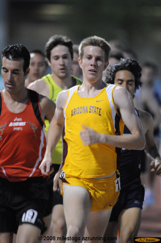 Joey Heller in the Men's 1500