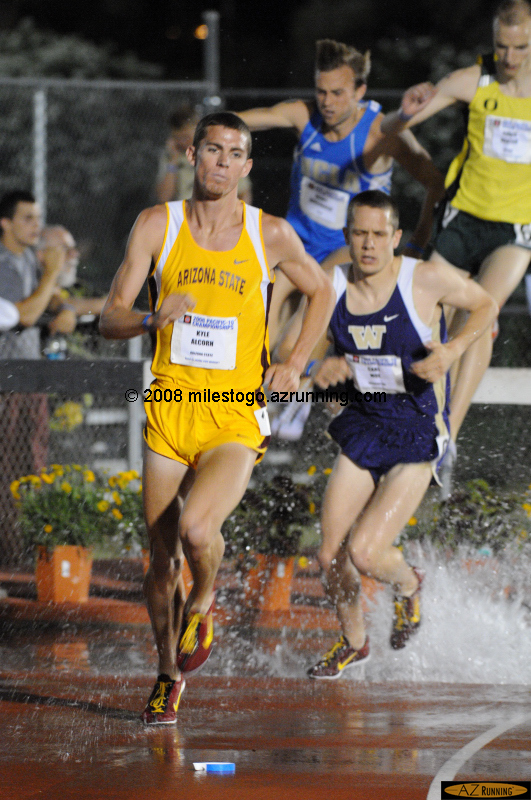 Kyle Alcorn maintained ASU's Pac-10 steeplechase winning streak at 5 years in a row