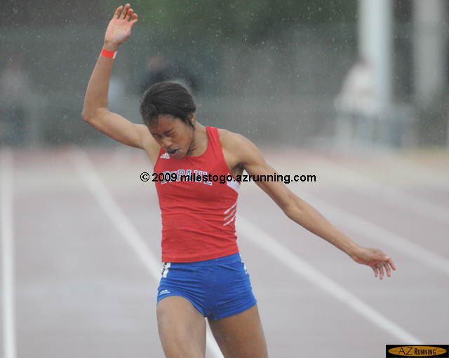 Competitors and fans at the 2009 Sun Angel Track Classic did not let the rain dampen their enthusiasm