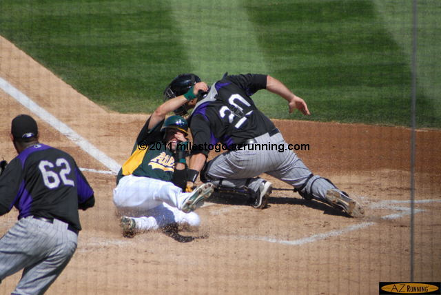 Rockies at Athletics, March 13, 2011