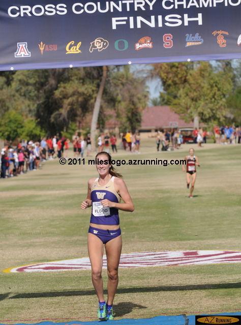 Katie Flood from the University of Washington won the women's individual title.
