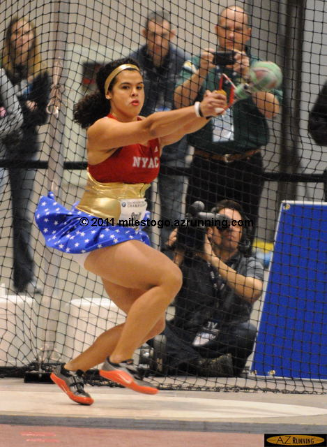 Loree Smith, Women's Weight Throw.