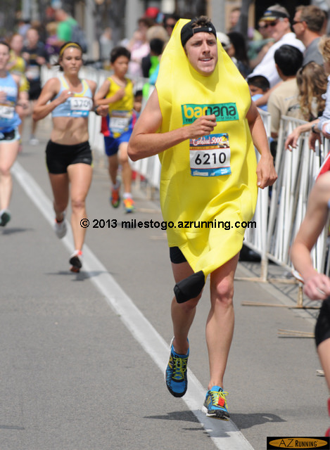 Even the bananas run fast at Carlsbad