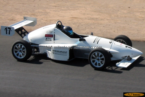 Driving a Formula Ford