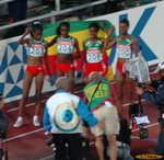 Ethiopian women sweep the 10,000 meters 1-2-3-4