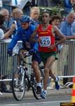 Jaouad Gharib, men's marathon champion
