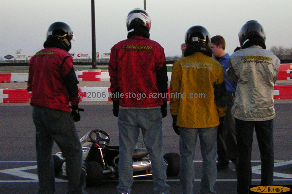 Four Guys and a Shifter Kart...